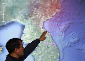 Prueba nuclear generó sismo de 4,9