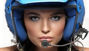 Nenas y Naves presenta: La piloto de rally que también es conejita de Playboy (WOW)