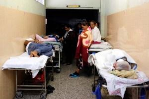 Hospitales de Caracas están parados en un 80%