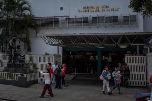 Denuncian situación crítica del Hospital JM de los Ríos