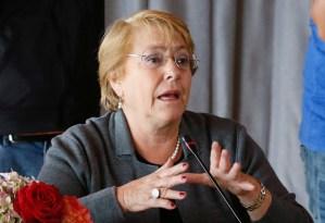 ¿Cómo será la agenda de Michelle Bachelet durante su visita a Caracas?