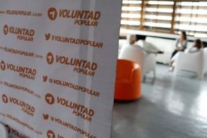 Voluntad Popular rechaza imágenes difundidas con el logo de la organización política