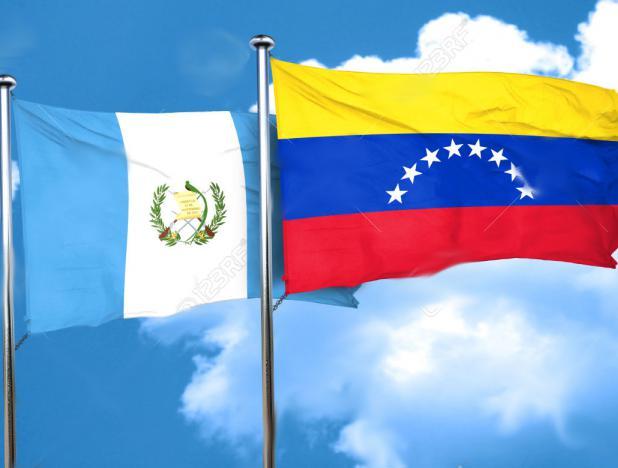58601326-bandera-de-Guatemala-con-la-bandera-de-Venezuela-3D-Foto-de-archivo