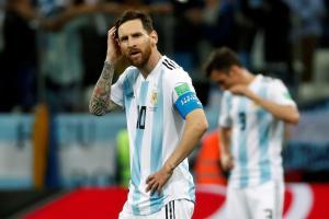 Argentina aguarda a Messi previo al choque contra Venezuela