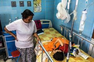 En Venezuela hay 2.360 casos de difteria, informó el Ministerio de Salud a la OMS