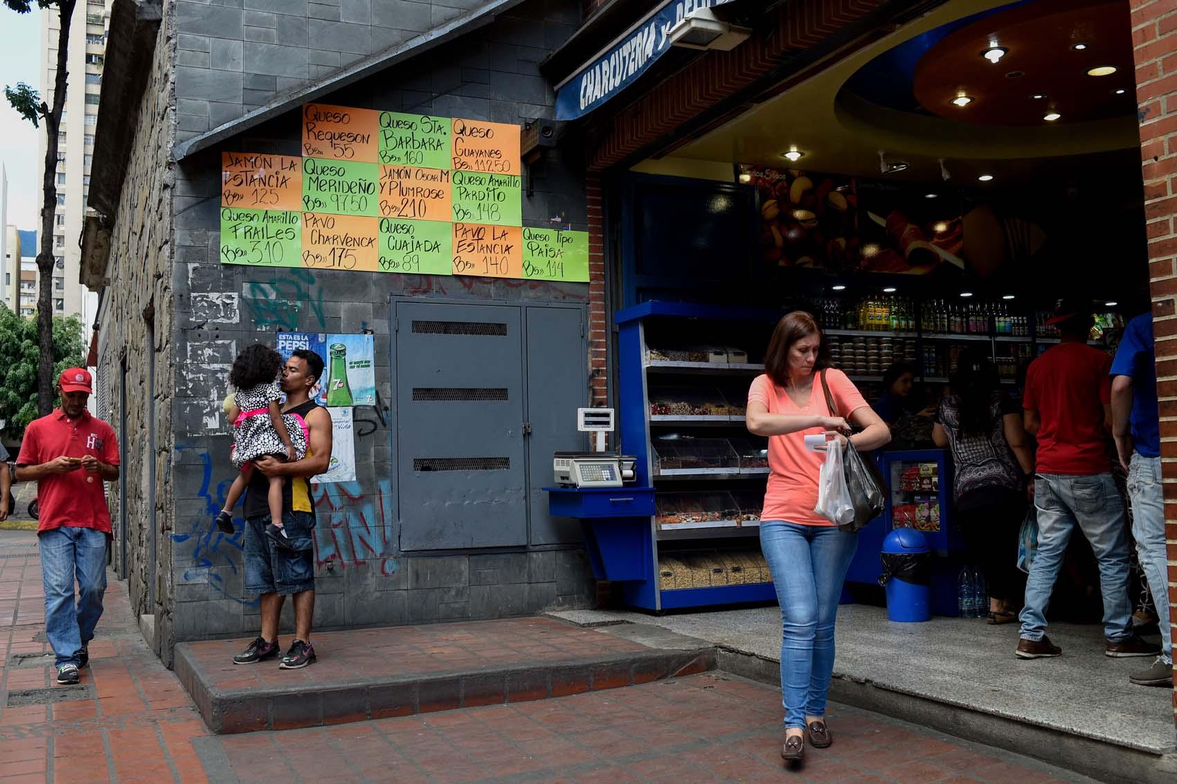 La inflación devora el bolsillo de los venezolanos