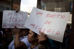 Hercon: El 98% de los trabajadores públicos venezolanos viven en extrema pobreza