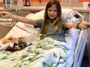 Milagro en Texas: Desaparece un tumor incurable en el cerebro de una niña (fotos)