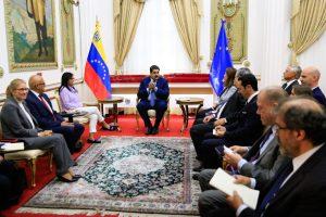 Maduro se reunió en Miraflores con embajadores Europeos