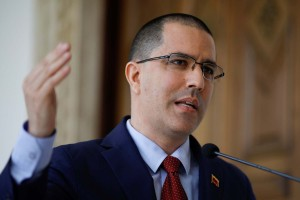 Arreaza rechaza que entes diplomáticos se suscribieran a los delegados de Guaidó (Comunicado)
