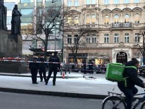 Un hombre se prendió fuego en Praga, 50 años después del acto de Jan Palach (fotos)