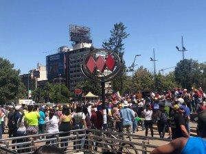 Venezolanos en Chile participaron en un cabildo abierto para la transición (fotos)