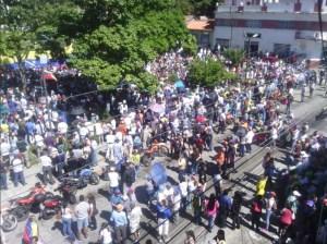 ¡Calentando ánimos! Las calles de Mérida se llenaron en cabildo abierto en respaldo a la AN (Fotos)