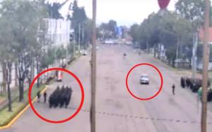 Las fotografías que revelaron el recorrido del carro bomba en el atentado de Bogotá (video)