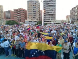 Habitantes de Lechería también se sumaron al Cabildo Abierto de este #18Ene (Videos)