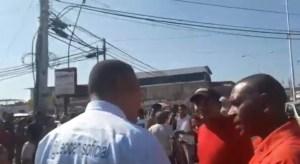 Chavistas sabotearon cabildo abierto en Maracay y agredieron a Leocenis García (Video)