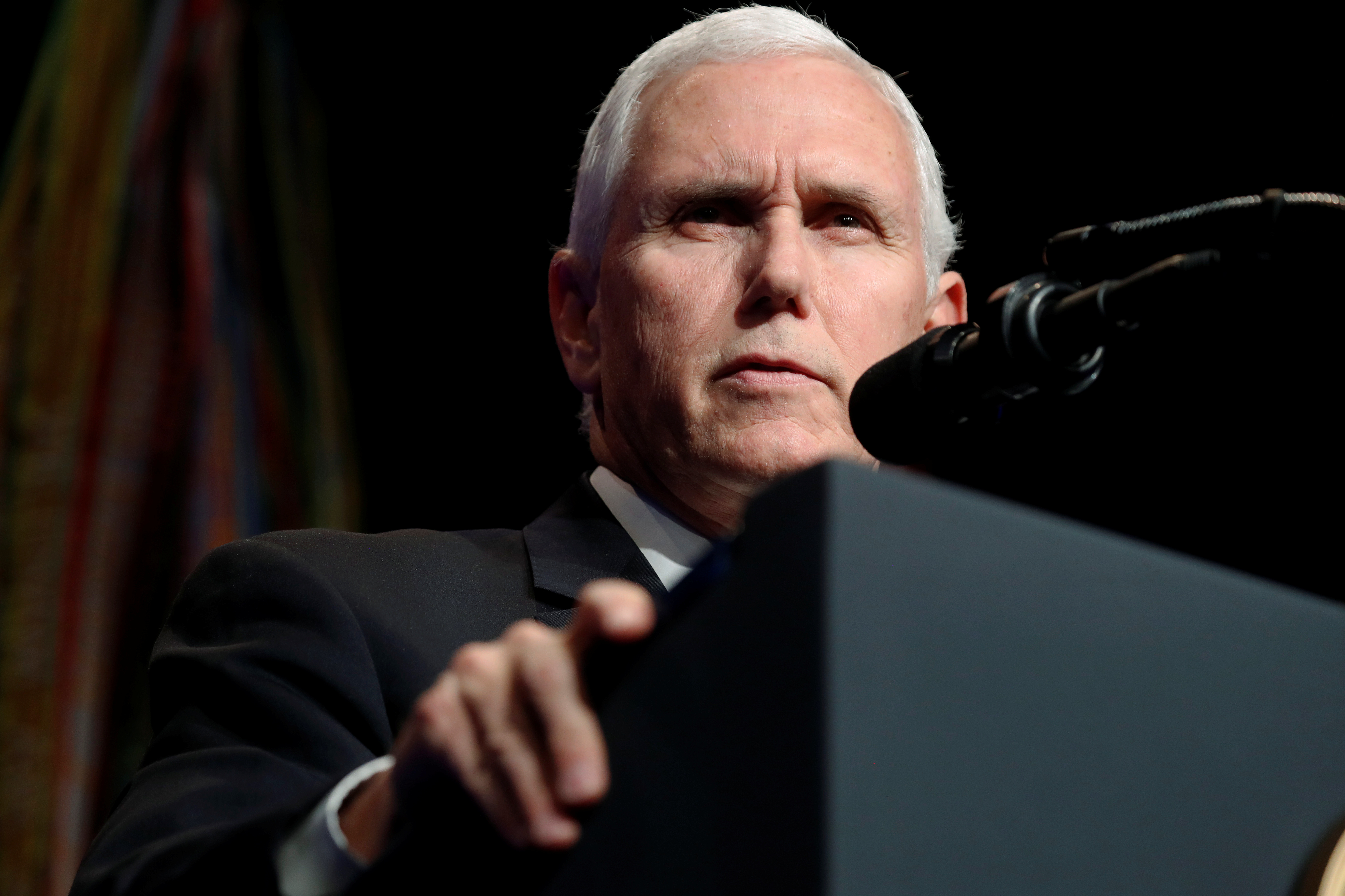 Mike Pence advierte que EEUU seguirá actuando contra lideres chavistas que amenazan los DDHH