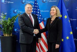 Mogherini y Pompeo piden elecciones para que Venezuela vuelva al orden constitucional