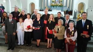 El Vaticano condecora a nueve venezolanos por sus servicios a la Iglesia