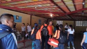 Juventud de UNT prestó servicio comunitario a vecinos de San Isidro en Petare