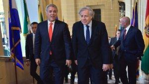 Duque respalda reelección de Almagro como secretario general de la OEA