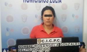 Detienen a mujer implicada en sicariato del comisario Benito Cobis en Zulia