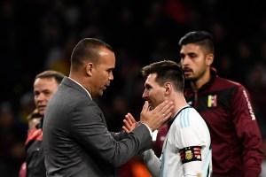 Messi vs la defensa Vinotinto, clave del duelo de cuartos para Argentina