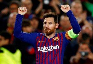Messi impulsa al Barcelona a los cuartos de final de la Champions