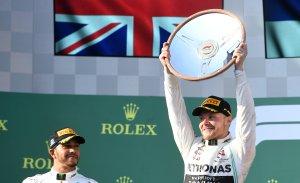 El finlandés Bottas gana el GP de Australia de la Fómula Uno