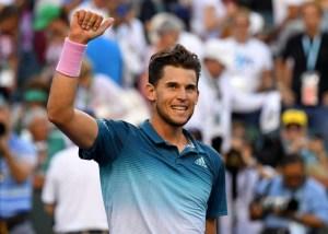 Thiem vence a Federer para quedarse con título de Indian Wells