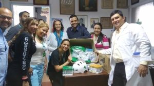 Engagement Foundation Group y Fundune donaron insumos médicos al Hospital Clínico Universitario
