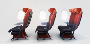 Asientos de avión del futuro: control de temperatura, confort y una app inteligente