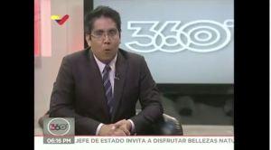 La nueva metida de pata del periodista complaciente de VTV ante apagón rojo (AUDIO)