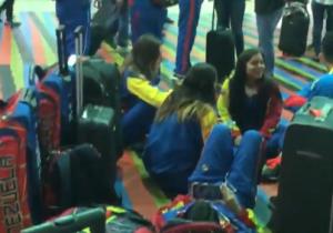 Selección venezolana de kárate sigue varada en Maiquetía a falta de un día del Panamericano