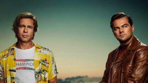 DiCaprio y Pitt son los protagonistas del primer póster de Once Upon a Time in Hollywood