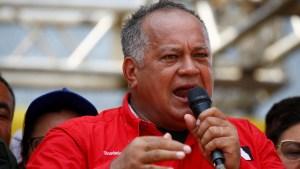 """""""A Miraflores no van"""": Lo que dijo Diosdado a Guaidó tras reclamar su oficina (VIDEO)"""