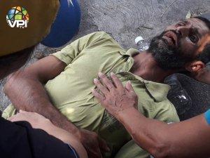Reportan enfrentamiento entre colectivos y médicos a las afueras del Hospital Central de Barquisimeto #17Mar