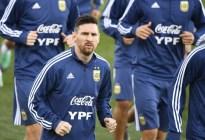 Messi llega a la concentración con Argentina en Madrid para duelo contra Venezuela