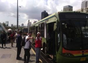Metro de Caracas habilita rutas de metrobus durante nuevo apagón rojo