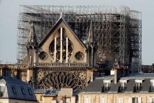 Cámara instalada en campanario de Notre Dame podría revelar claves sobre incendio