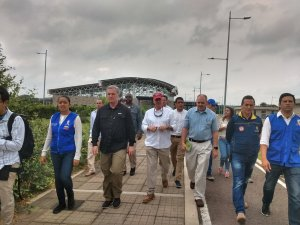 Congresistas de EEUU visitaron Cúcuta para constatar la crisis venezolana (Fotos y Videos)