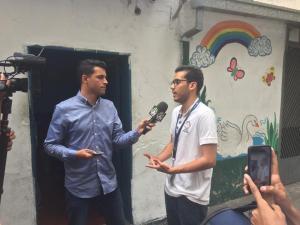 Liberado periodista de Venepress, Frank Thomas