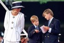 Las tristes confesiones de Lady Di sobre el comportamiento del príncipe Carlos con sus hijos William y Harry