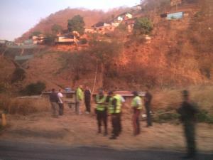 Reportan accidente en la autopista Gran Mariscal de Ayacucho #18Abr (Fotos)