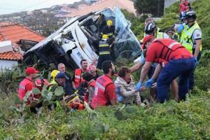 Duelo en Madeira por la muerte de 29 turistas alemanes en accidente de bus