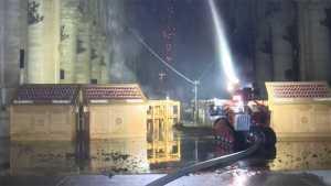 El héroe que salvó Notre Dame es un robot bombero (video)