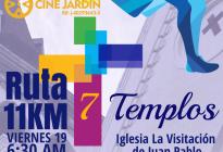 Podrás recorrer la ruta de los Siete Templos corriendo o en bicicleta este #19Abr