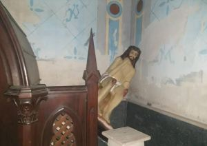 Ni por Semana Santa respetan… Desvalijan iglesia de Tinaquillo