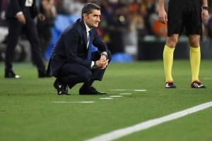 Ernesto Valverde admitió que el Barcelona echa de menos a Leo Messi