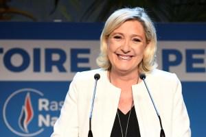 Le Pen se impone a Macron en las elecciones europeas en Francia